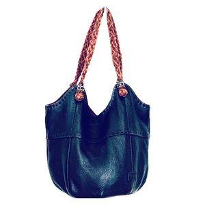THE SAK Black Hobo Bag Vintage